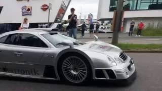 Download (Super)Cars leaving Cars & Coffee Stuttgart, 03.07.16 | CLK GTR,N-Largo,Aventador etc. Video