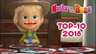 Download Masha And The Bear - Top 10 🎬 Best episodes of 2018 Video