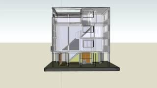 Download Corbusier - Maison Citrohan 3D (Sketchup) Video