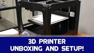Download 3D Printer: Unboxing & Setup | Atal Tinkering Lab Video