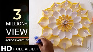 Download How to Make Wall Decoration with Paper | Easy DIY Home Decor Ideas Video