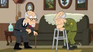 Download Family Guy - Herbert and Nazi Lieutenant Epic Fight!! Video