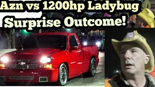 Download Street Outlaws Azn vs LadyBug 1200 AWD Battle!!! Video