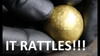 Download 24K Pure Gold Foil Ball Video