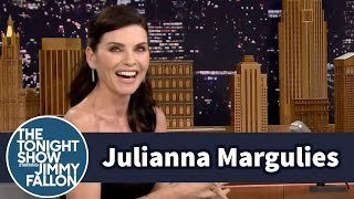 Download Julianna Margulies Wets Her Hair with a Foul-Named Grease Video