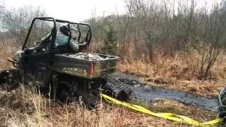 Download Tracks vs. Tires on a Polaris Ranger Video