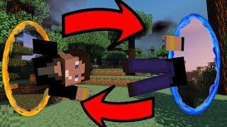 Download Villámgyors utazás! | Portal Gun MOD! | Minecraft | Video