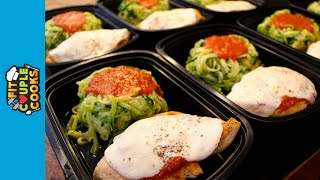Download How to Meal Prep - Ep. 15 - CHICKEN PARMESAN & ZOODLES Video