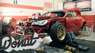 Download Ferrari Powered Toyota, GT-4586. Final build update w/ Ryan Tuerck | The GT4586 | Donut Media Video