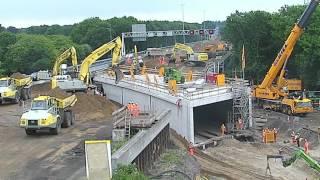 Download 20-5-2016 Timelapse A12 70 meter tunnel in one weekend under highway!! Video