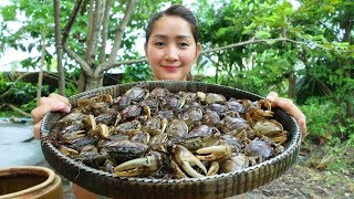 Download Yummy Rice Crab Pounding With Ferroniella Lucida Recipe - Rice Crab Pounding - Cooking With Sros Video