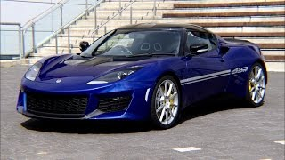Download Lotus Evora 410 Sport in Azure Blue! Exclusive viewing at Lotus Silverstone Video