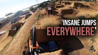 Download RIDING THE MOST INSANE MTB BIKE PARK!! SKATEPARK & TRAILS Video