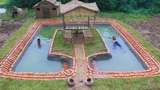 Download BUILD SWIMMING POOL AROUND THE HUT. Part 1 Video