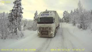 Download Ice road trucking in west Norway :) Video
