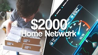 Download Alex's ULTIMATE Home Network Install   AC Access Points, POE Switches & NAS! Video