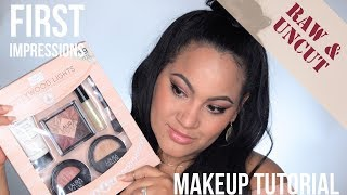 Download RAW & UNCUT Full Face First Impressions Tutorial | Laura Geller Hollywood Lights Video