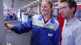 Download Lehrlinge im Bild: Metalltechnik - Maschinenbautechnik (Ines) Video