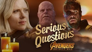 Download Serious Questions: Avengers Infinity War Video