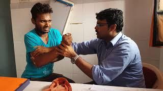 Download Dr. L. Prakash' method of dislocated shoulder reduction Video