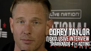 Download Corey Taylor Reveals Role in 'Sharknado 4' [Exclusive] Video