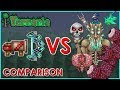 Download Terraria - Phantasm and Celebration vs Bosses | Comparison Video