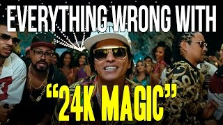 Download Everything Wrong With Bruno Mars -″24K Magic″ Video