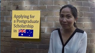 Download Applying for a Postgraduate Scholarship in Australia Video
