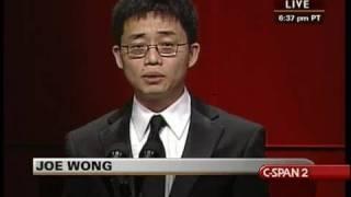 Download C-SPAN: Joe Wong at RTCA Dinner Video