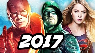 Download The Flash Season 4 Arrow Supergirl 4 Night Crossover Details Video