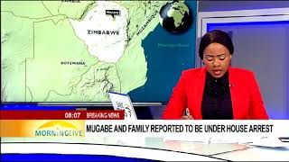 Download Mugabe and family reported to be under house arrest Video