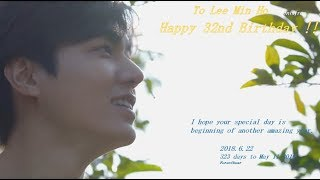 Download Happy 32nd Birthday to Lee Min Ho. 2018/6/22 Rose Video