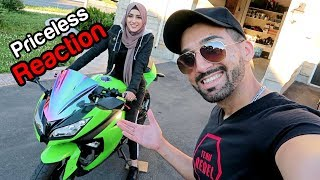 Download I BOUGHT FROGGY HER FIRST MOTORCYCLE Video