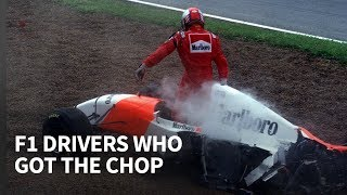 Download 10 F1 drivers who were dumped during the season Video