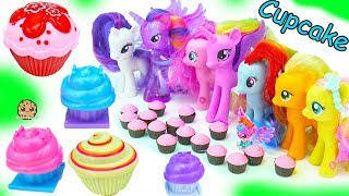 Download My Little Pony Cupcake Party with Surprise Princess Dolls + Animal Jam Blind Bag Toys Video