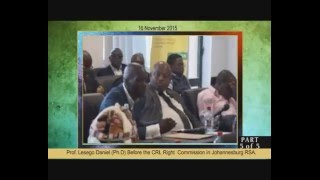 Download Prof Lesego Daniel and CRL Commission - 5 of 5 Video