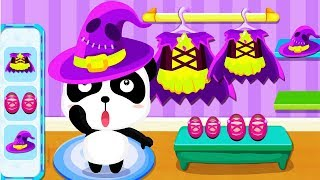 Download Baby Panda's Supermarket Grocery Store - Join The Fun Halloween Party Shopping Kids Games Video