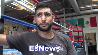 Download Amir Khan On Ring Return and What Why Pacquiao Fight Did Not Work - EsNews Boxing Video