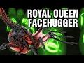 Download Super Royal Queen Facehugger Explained - Xenomorph Parasite Video