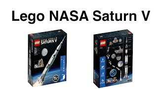 Download Lego NASA Saturn V - Hands On Build & Review Video