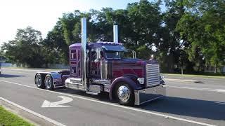 Download 2018 75 CHROME SHOP Truck Convoy Video