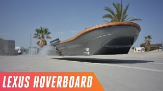 Download Riding the Lexus hoverboard in Spain Video