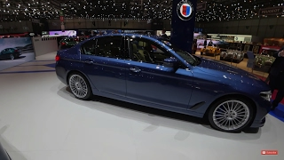 Download [4k] G30 BMW Alpina B5 BiTurbo WIDEANGLE OVERVIEW new BMW 5-series in DETAIL Video
