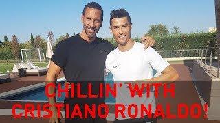 Download Chillin' with Cristiano Ronaldo | Rio Vlogs Video