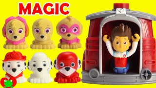 Download Paw Patrol Super Pups Saves Ryder Using Marshall's Magical Pup House LOL Doll Surprises Video