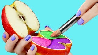 Download 17 Weird Ways To Sneak Makeup Into Class / Back To School Pranks Video