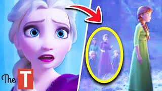 Download 10 Things Everyone Missed In NEW Frozen 2 Trailer Video