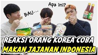 Download REAKSI ORANG KOREA MAKAN JAJANAN KHAS INDONESIA 인도넨시아 과자를 먹은 한국인의 반응 Video