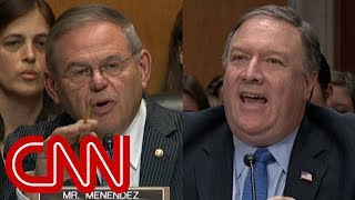 Download Pompeo hearing gets heated over what Trump told Putin Video