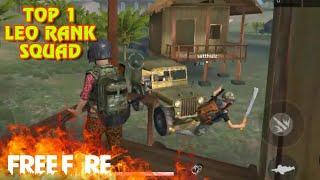 Garena Free Fire] TOP 1 SOLO SQUAD Thanh Niên Nguy Hiểm Nhất